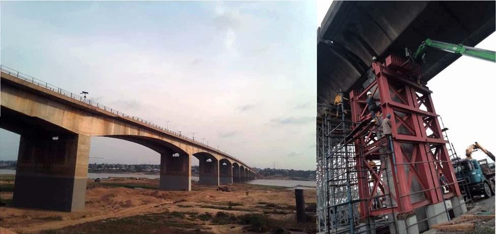 AGV Construction, repair and rehabilitation works of Makurdi Bridge in Benue State